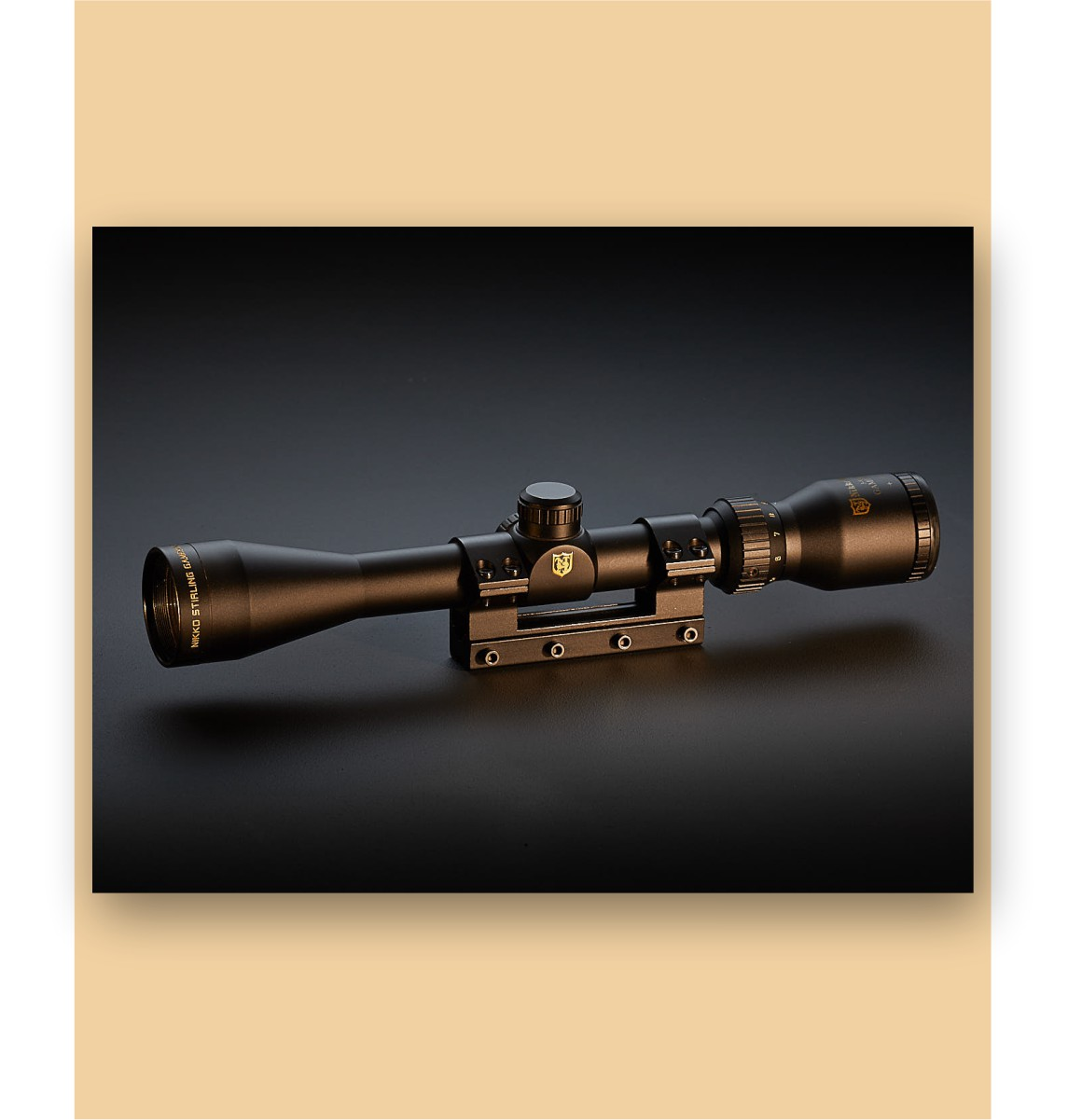 Nikko Sterling scope with graduated background